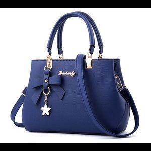 Women Lady Leather Handbag Shoulder Messenger Satc